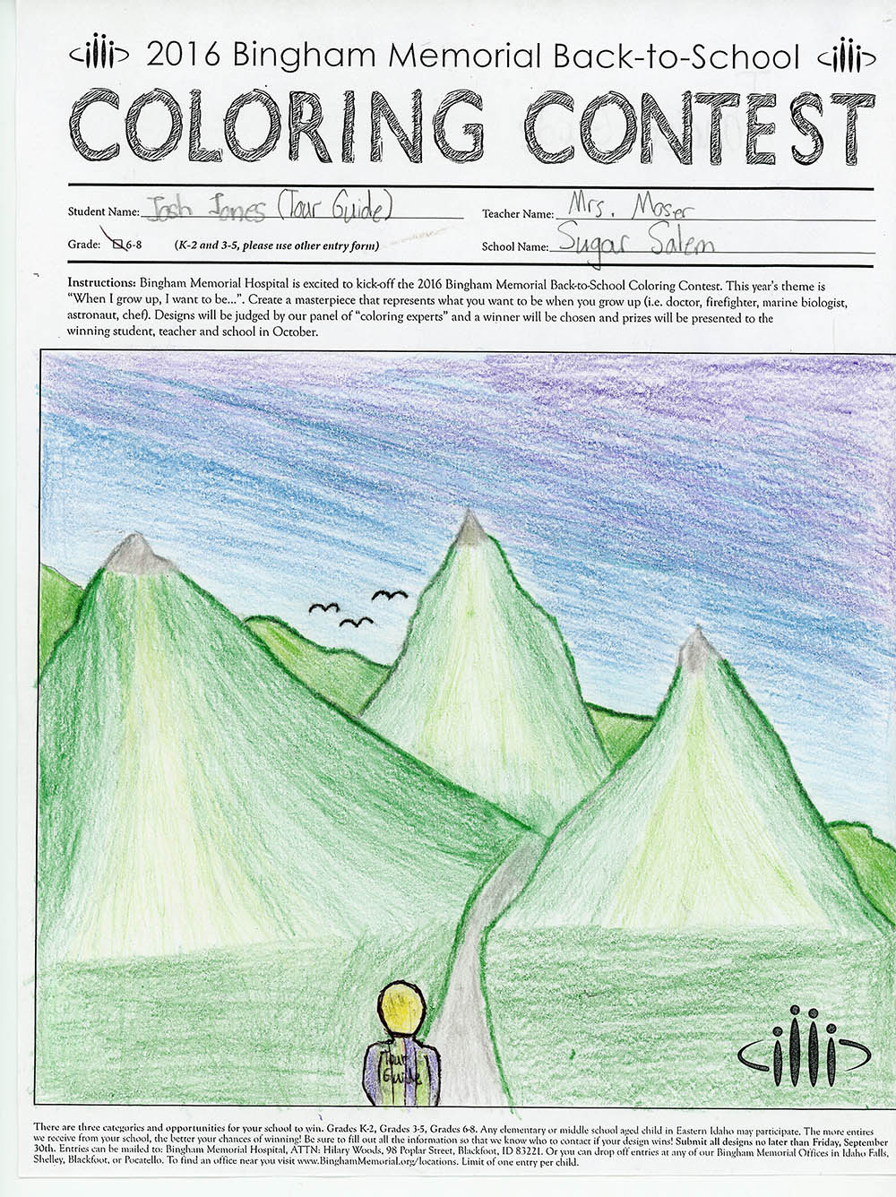 BMH Announces Winners of Annual Back-to-School Coloring Contest ...