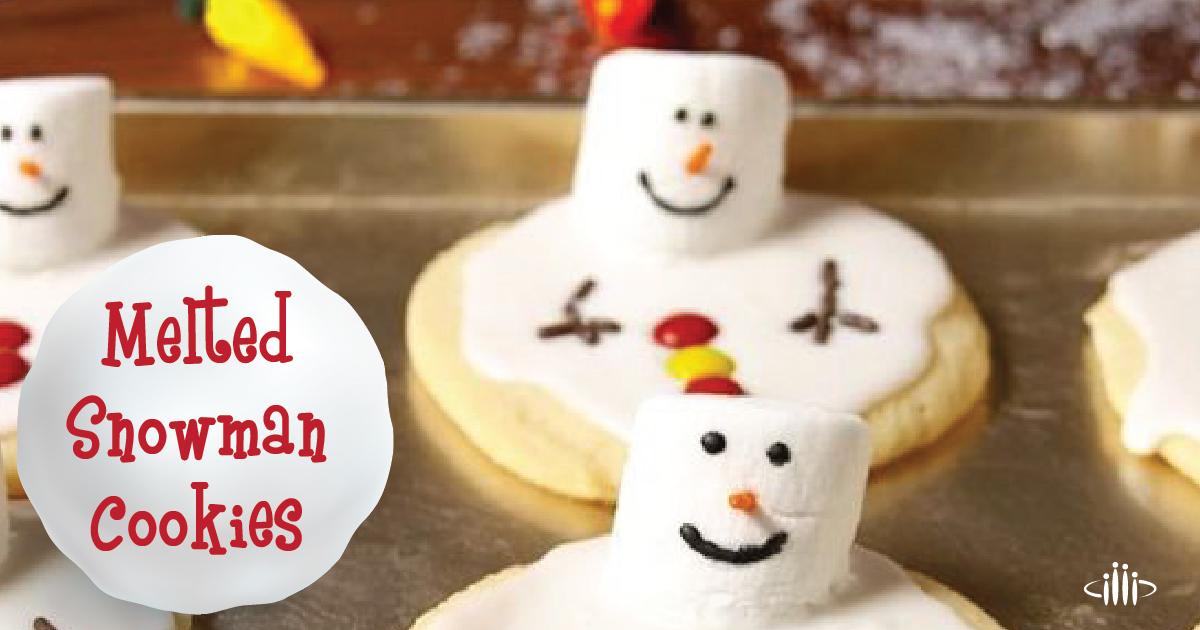 Melted Snowman Cookies Bingham Memorial Hospital